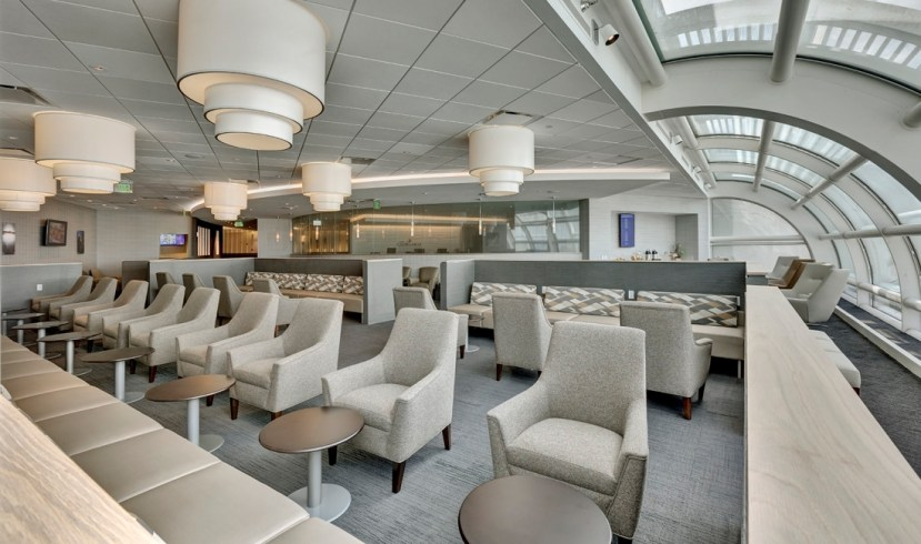 Lounge Area - The Club at MCO / Lufthansa