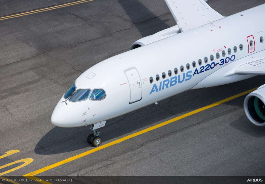 Airbus Renames Bombardier C Series Aircrafts To The A220 Family