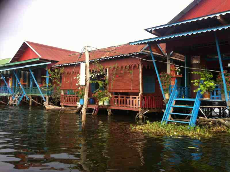 Window boxes at Kampong Phluk