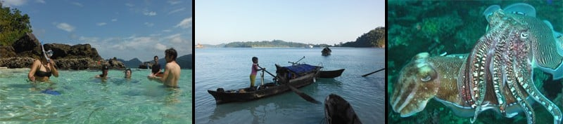 Images from the Mergui Island Cruise