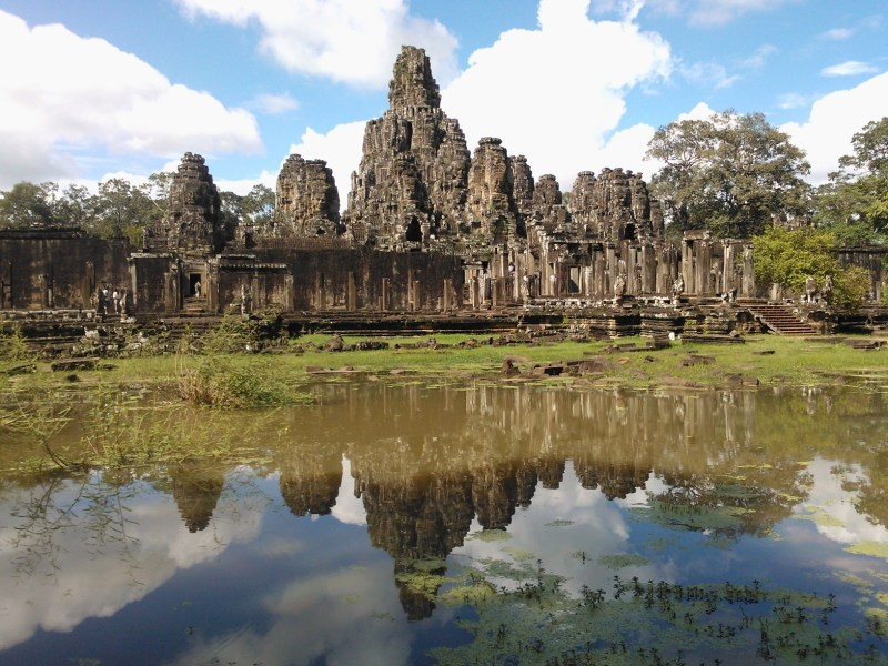 Jason's photo of Angkor is beautifully composed. The still reflection captures the magnificence of the scene.
