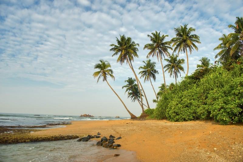 Beach near Galle