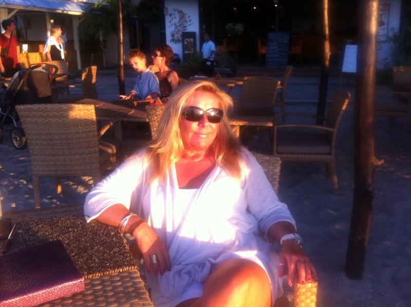 Kelly in the Gili Islands: Not really roughing it