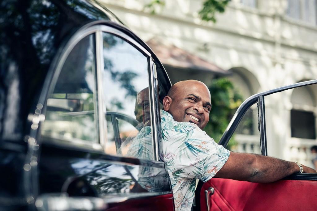 Driver in Sri Lanka