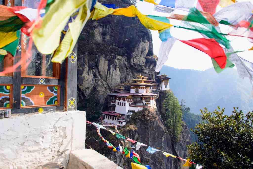 Tiger;s Nest monastery in Bhutan