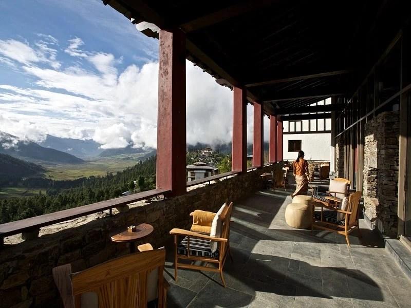 Gangtey Lodge hotel in Bhutan