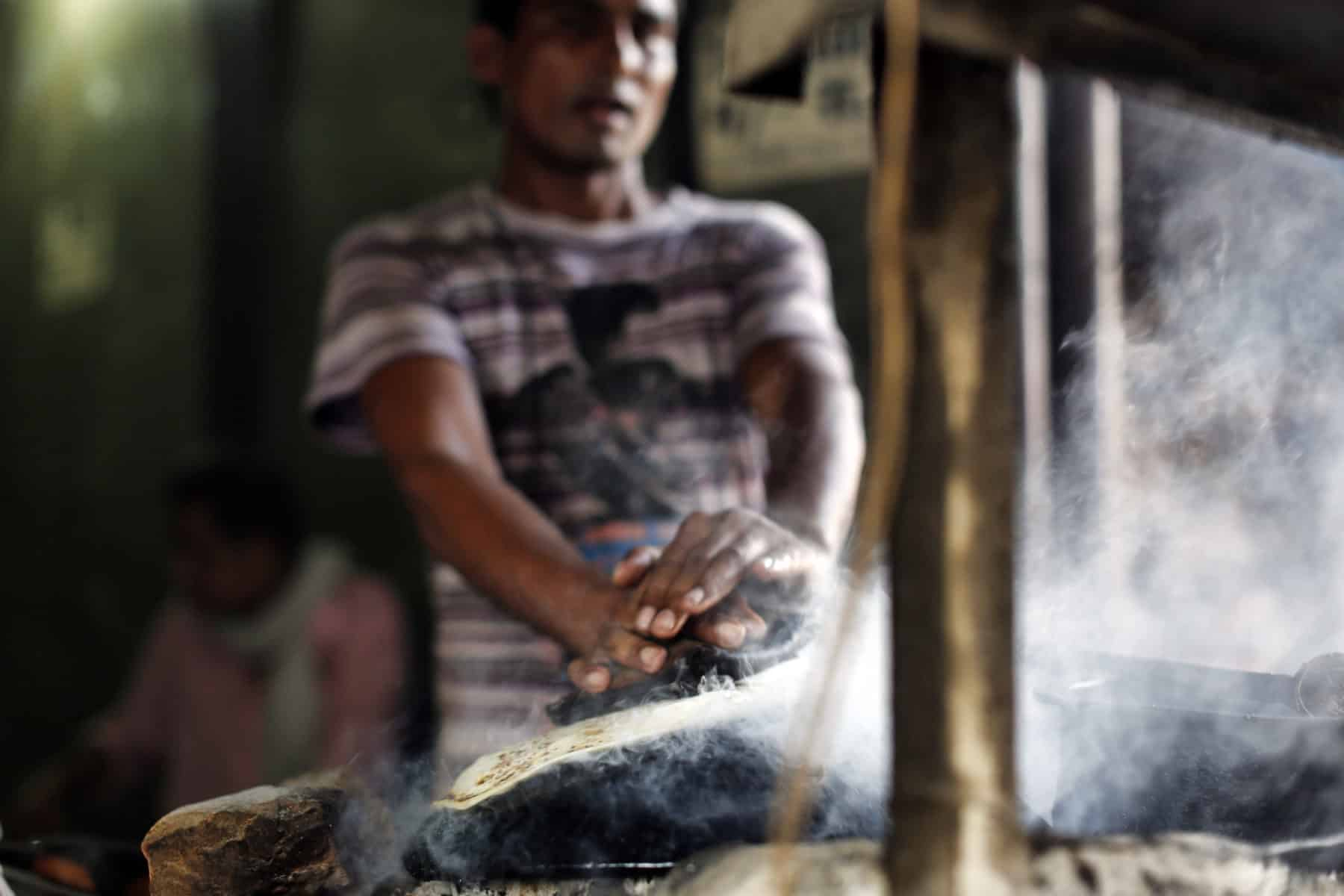Is street food in India safe to eat?