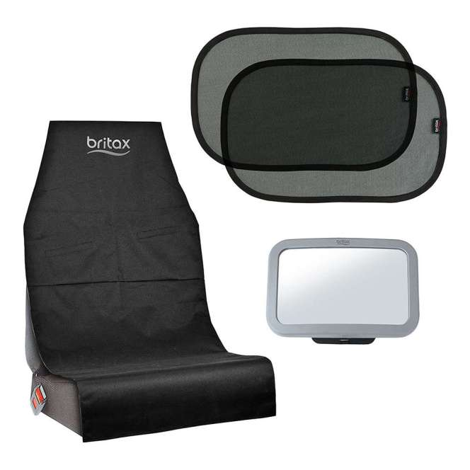 Pack Britax: Parasol, espejo, protector asiento