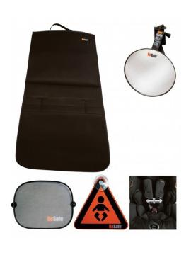 Pack Besafe: Espejo, Parasol, Protege asiento, sujeta cinturones