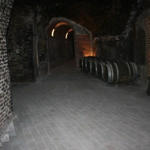 bodega subterranea en bodegas Mocen en Rueda