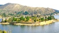 Vista desde el Embalse de El Burguillo de la Isla de El Burguillo