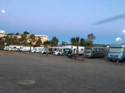 Parking para autocaravanas Camper Área Aníbal en Águilas en Murcia
