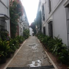 Callejuela del Casco Antiguo en Marbella