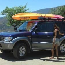 Canoa y kayak con Team 4 you en el lago de Istán en Málaga