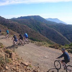 Descenso en bicicleta de montaña en Sierra de las Nieves