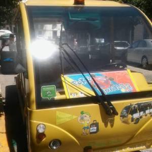 Microbús panorámico en Priego de Córdoba