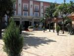 Entrada principal del Hotel Don Gonzalo en Montilla