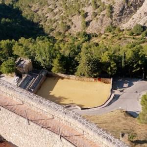 El Castillo de Segura de la Sierra en la provincia de Jaén