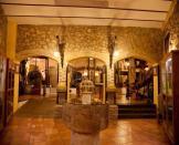 Interior de una sala en el Museo del Aceite en Cabra