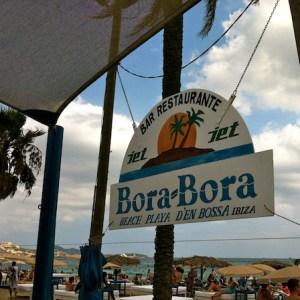La Playa d'en Bossa en Ibiza