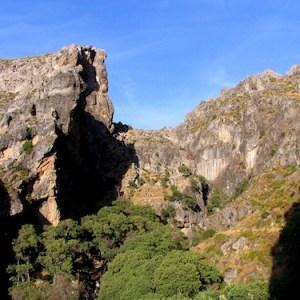 El Desfiladero de los Cahorros en Monachil