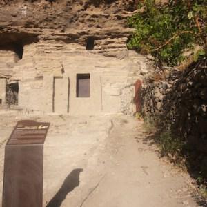 Yacimiento Arqueológico de Risco Caído en Artenara