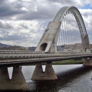El puente de Lusitania en Mérida