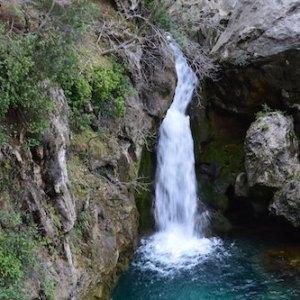 El nacimiento del río Borosa en Cazorla