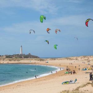 La playa de los Caños de Meca en Barbate