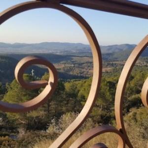 El mirador del Penedés en Font-Rubí