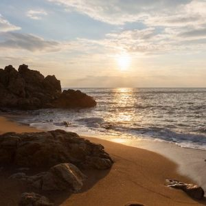 La Playa de Las Rocas en Calella