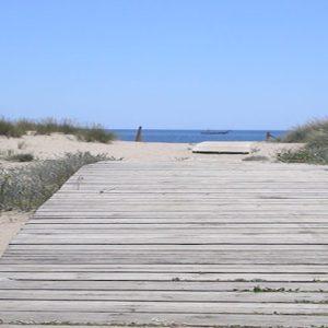 La Playa del Hoyo en Isla Cristina