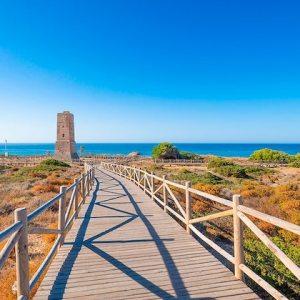 Playa de Cabopino en Marbella