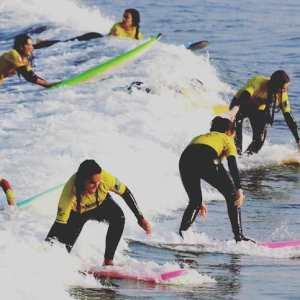 Clases de surf en Suances