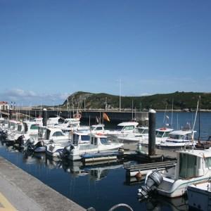 Puerto deportivo de Suances en Cantabria