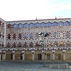 La Plaza Alta en Badajoz