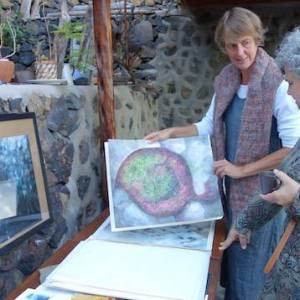 Casa rural para artistas en la Isla de El Hierro