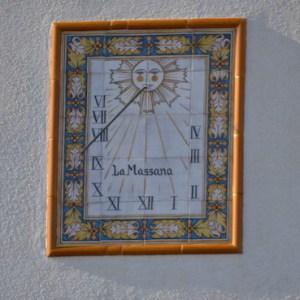Los relojes de sol en Guardiola de Font Rubi