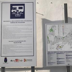 Parking de autocaravanas en Montilla