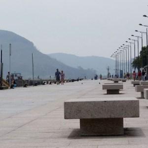 La playa de San Martín en Santoña