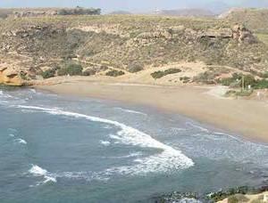 Playa de la Higuerica en Águilas