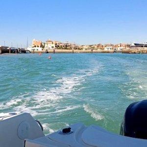 Paseo en barco Puerto Sherry