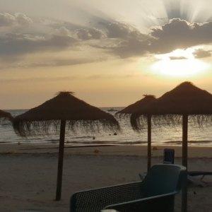 La playa de La Calzada y Las Piletas