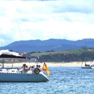 Alquiler de barcos para celebraciones en Santander
