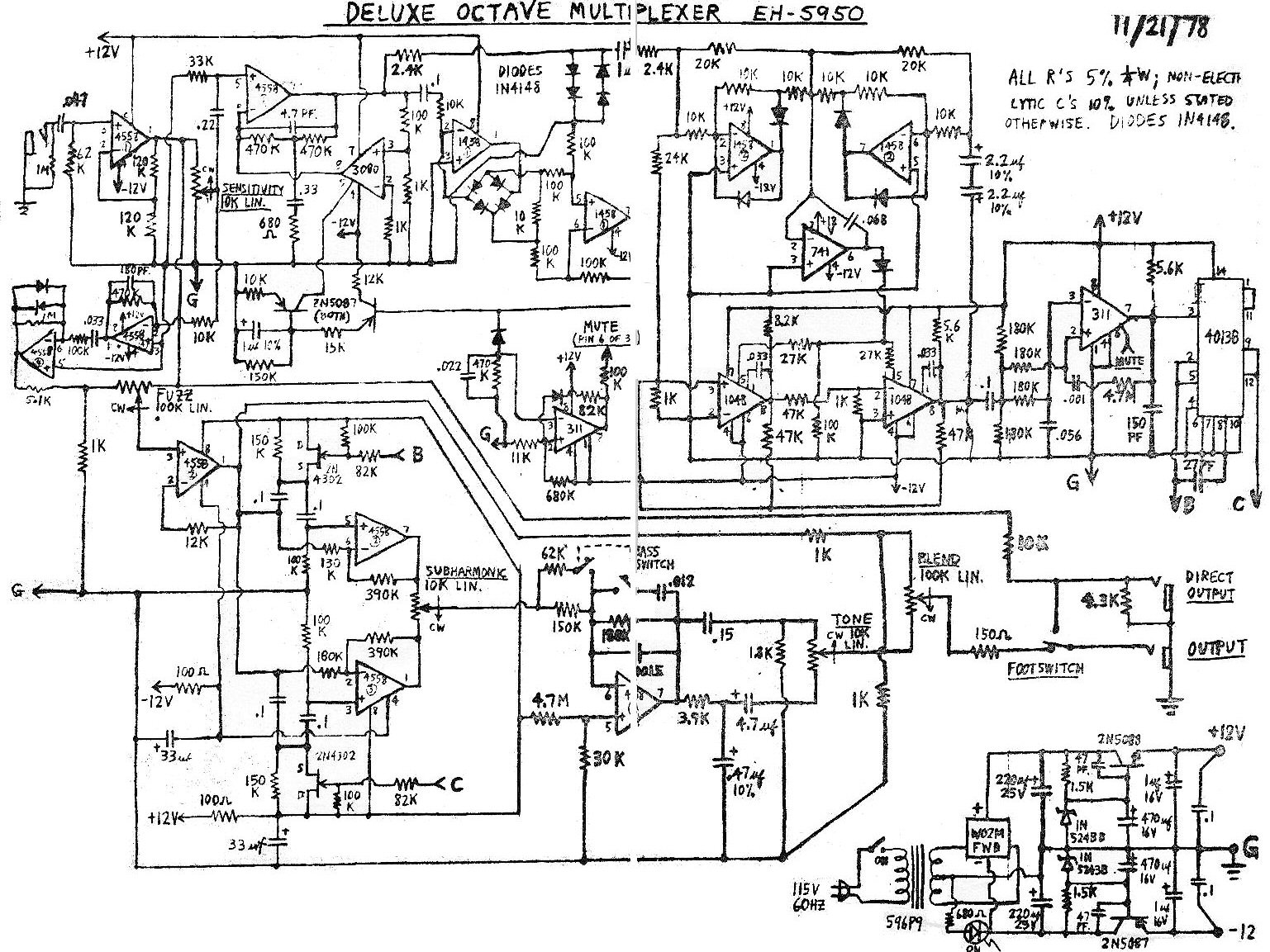 Index Of Diy Schematics Vibrato And Pitch Shift