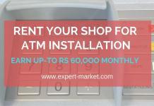 atm shop rental