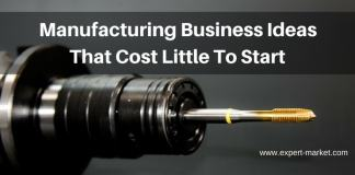 manufacturing busiiness that cost little to start