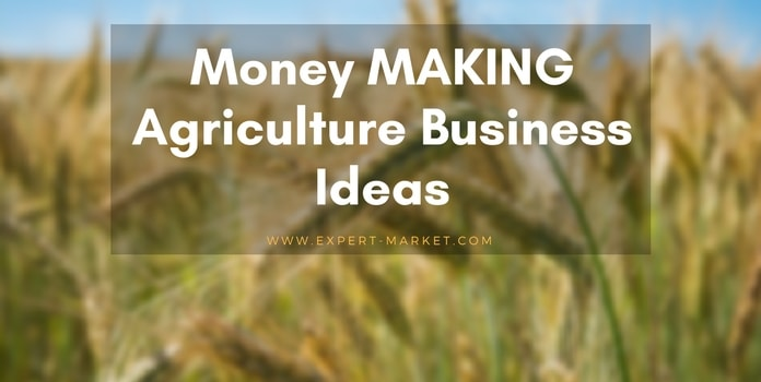 agriculture business ideas profit