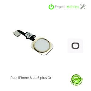 Bouton HOME de remplacement pour iPhone 6 compatible 6 Plus
