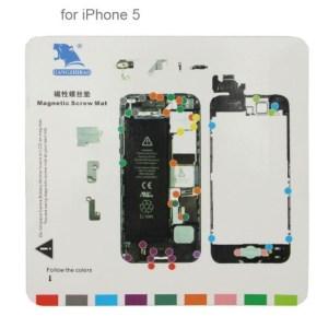 Repère magnétique pour iPhone 5